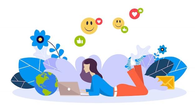Novo aplicativo ou redes sociais para bater papo