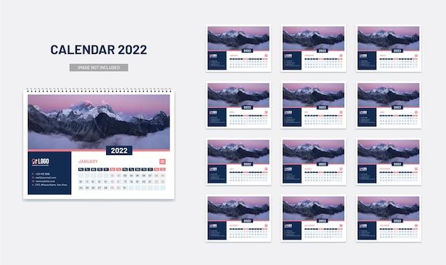 Novo calendário de mesa 2022