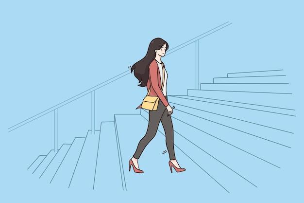 Novo conceito de escritório de sucesso empresarial de oportunidades