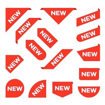 Novo conjunto de tags