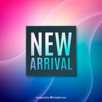Novo design de chegada
