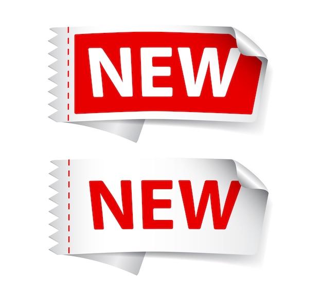 Novo design de etiquetas