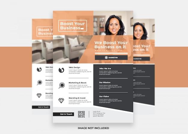 Novo design padrão conceito marketing apresentação colorida moderno negócio criativo panfleto corporativo