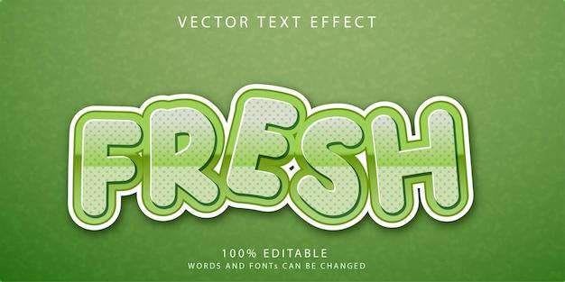 Novo modelo de estilo de efeitos de texto