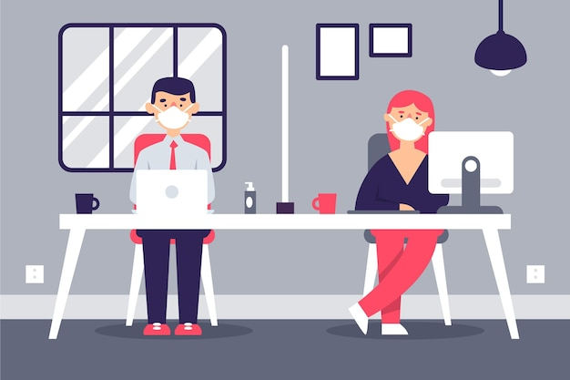 Novo normal no conceito de escritório