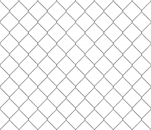 Novo padrão de estrutura perfeita de cerca de metal de malha de aço