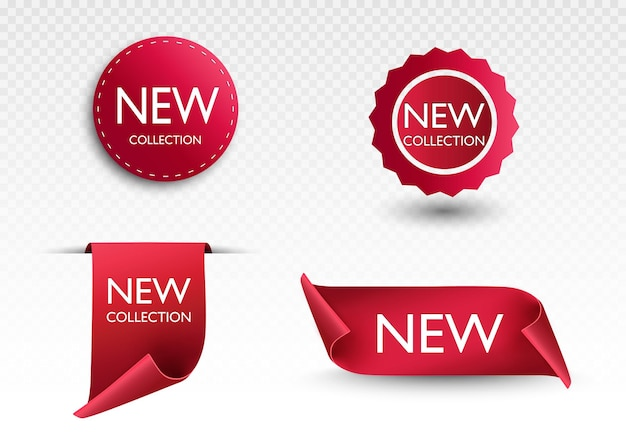 Novo papel de etiquetas de etiquetas de coleção