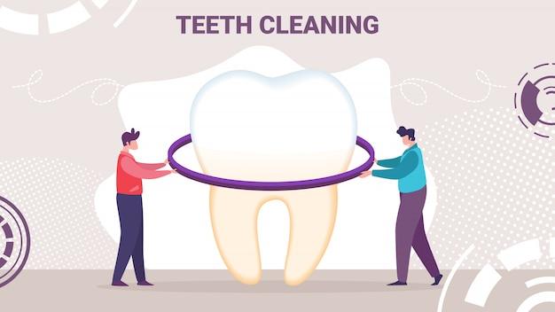 Novo produto para faixa plana de higiene bucal