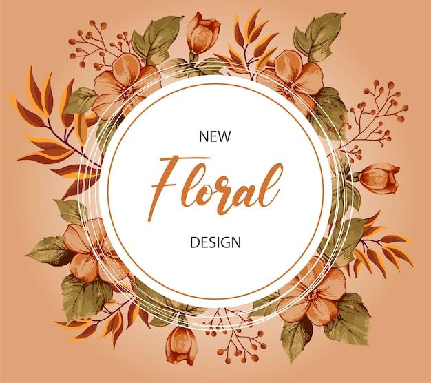 Novo quadro floral