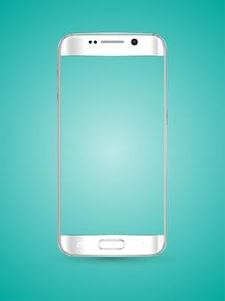 Novos modelos realistas de smartphones para celular