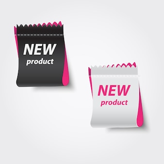 Novos rótulos de produtos.