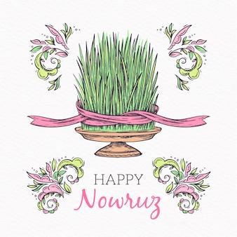 Nowruz com saudação