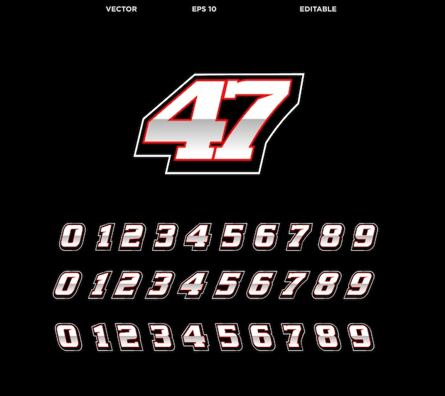 Número de corrida