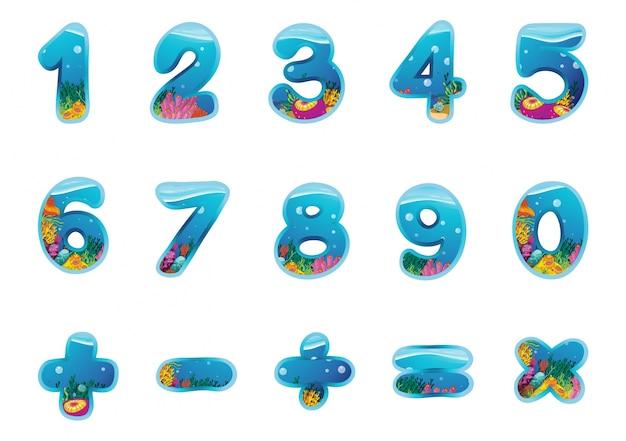 Números e sinais
