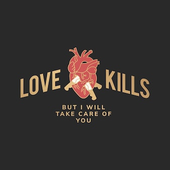 O amor mata a ilustração