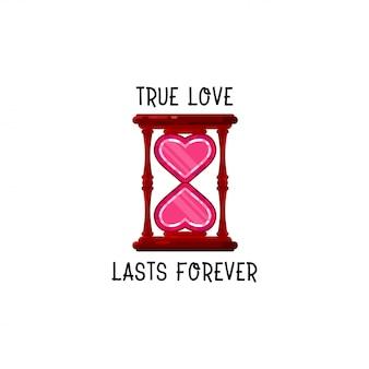 O amor verdadeiro dura para sempre