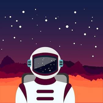 O astronauta perdido