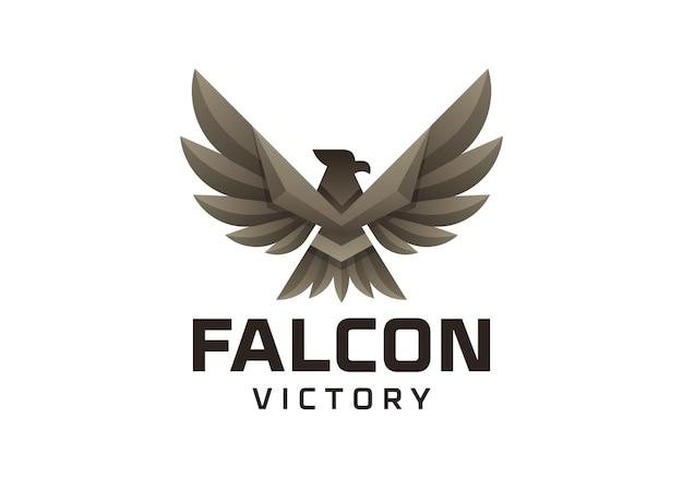 O bater das asas do logotipo da águia simboliza a vitória