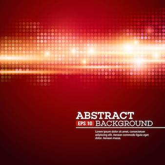 O bokeh abstrato ilumina o fundo. música disco. ilustração vetorial