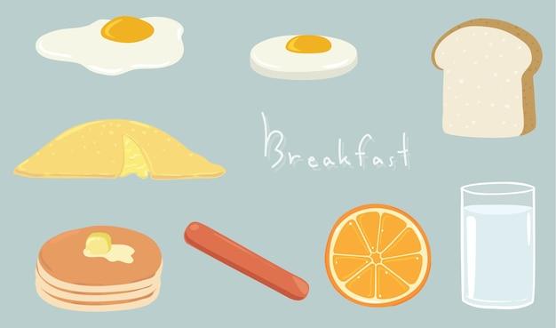 O café da manhã