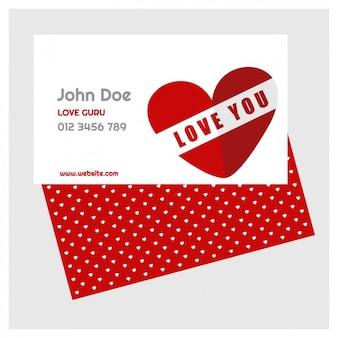 O cartão do valentim