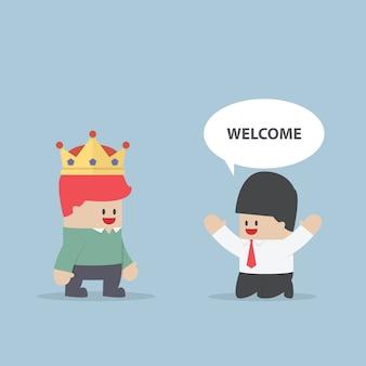 O cliente é rei