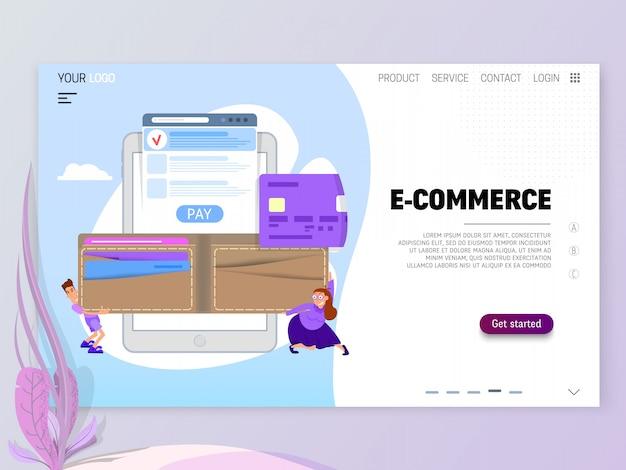 O conceito de pagamento on-line por cartão