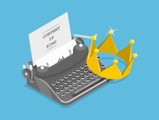 O conteúdo é rei