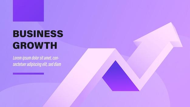 O crescimento do negócio.