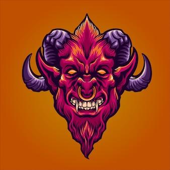 O demônio vermelho