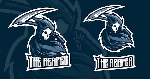 O design do logotipo reaper esport