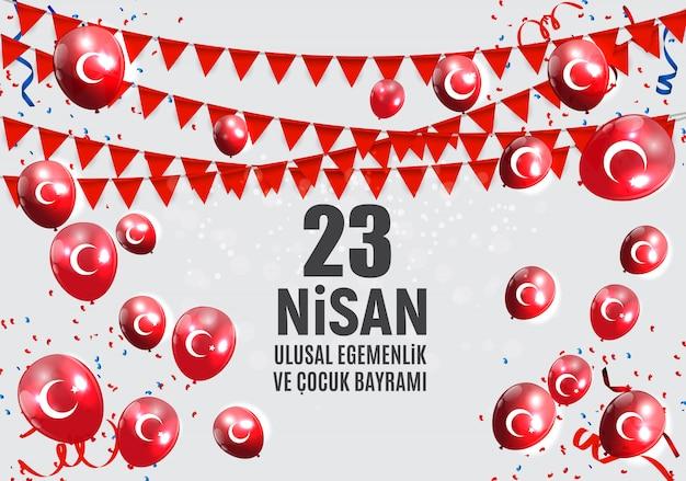 O dia das crianças fala turco, cumhuriyet bayrami.