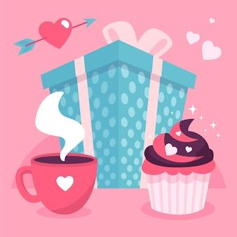 O dia do evento de amor e amizade