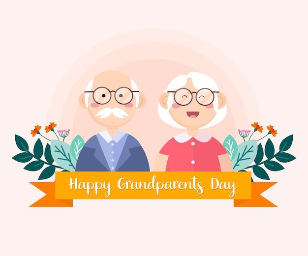 O dia dos avós é comemorado para mostrar o vínculo entre avós e netos.