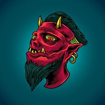 O diabo vermelho
