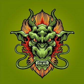 O dragão da terra verde