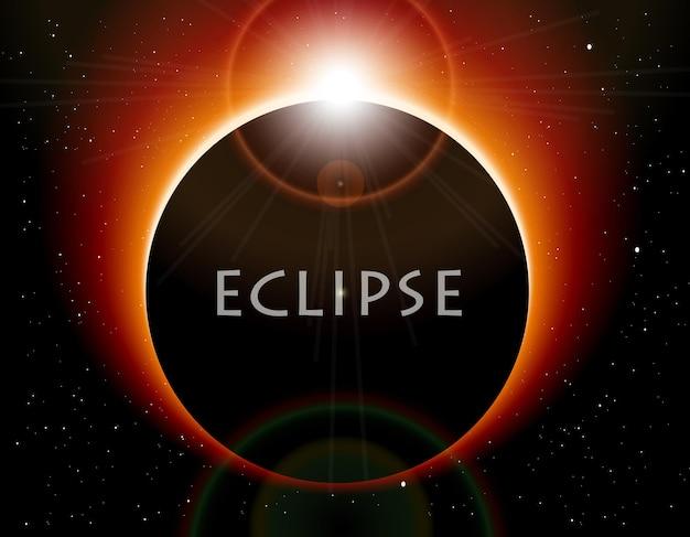O eclipse da lua
