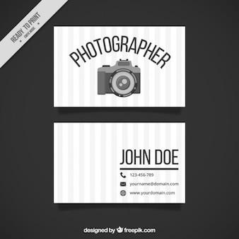 O fotógrafo cartão
