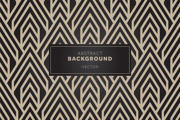 O fundo de padrões geométricos sem costura de luxo pode ser usado para fazer papel de parede
