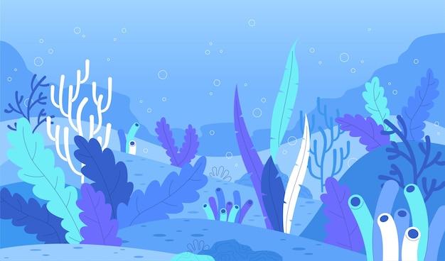 O fundo do mar para videochamadas