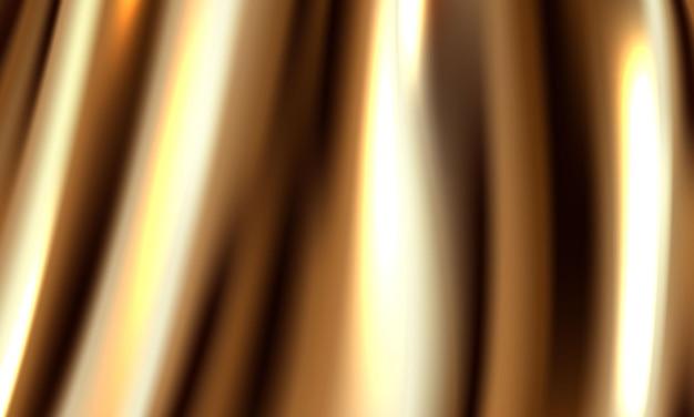 O fundo é uma cortina vip de ouro do teatro. ilustração em formato vetorial.