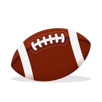 O futebol americano é um esporte que depende do trabalho em equipe. e está se tornando um esporte muito popular.