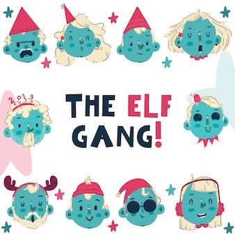 O gangue dos elfos