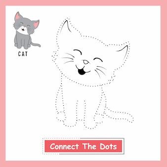 O gato conecta os pontos