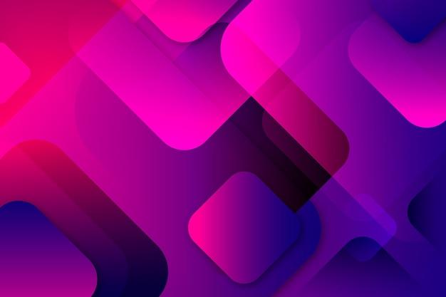 O gradiente de violeta sobreposto em forma de fundo