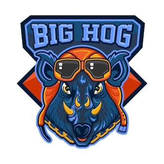 O grande porco