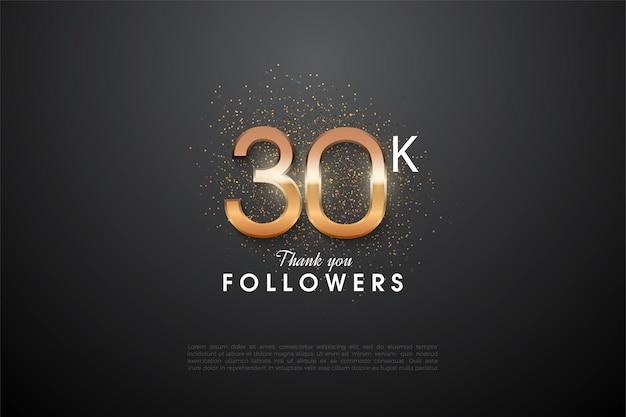 O histórico de 30 mil seguidores expôs os números.