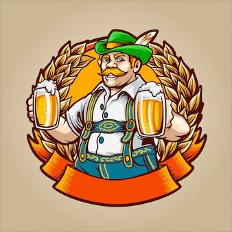 O homem da cerveja