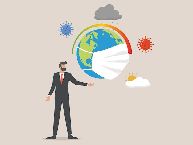 O impacto do coronavírus no conceito de crise climática