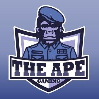 O jogo do macaco, logotipo do esporte e